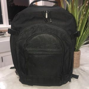 Piper Gear Bugout Black Back Pack Hiking or Travel
